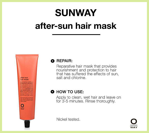 SUNWAY After-sun hair musk